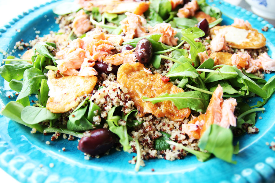 Quinoa Salmon Salad Recipes — Dishmaps